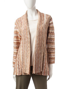 Alfred Dunner Space Dye Cardigan