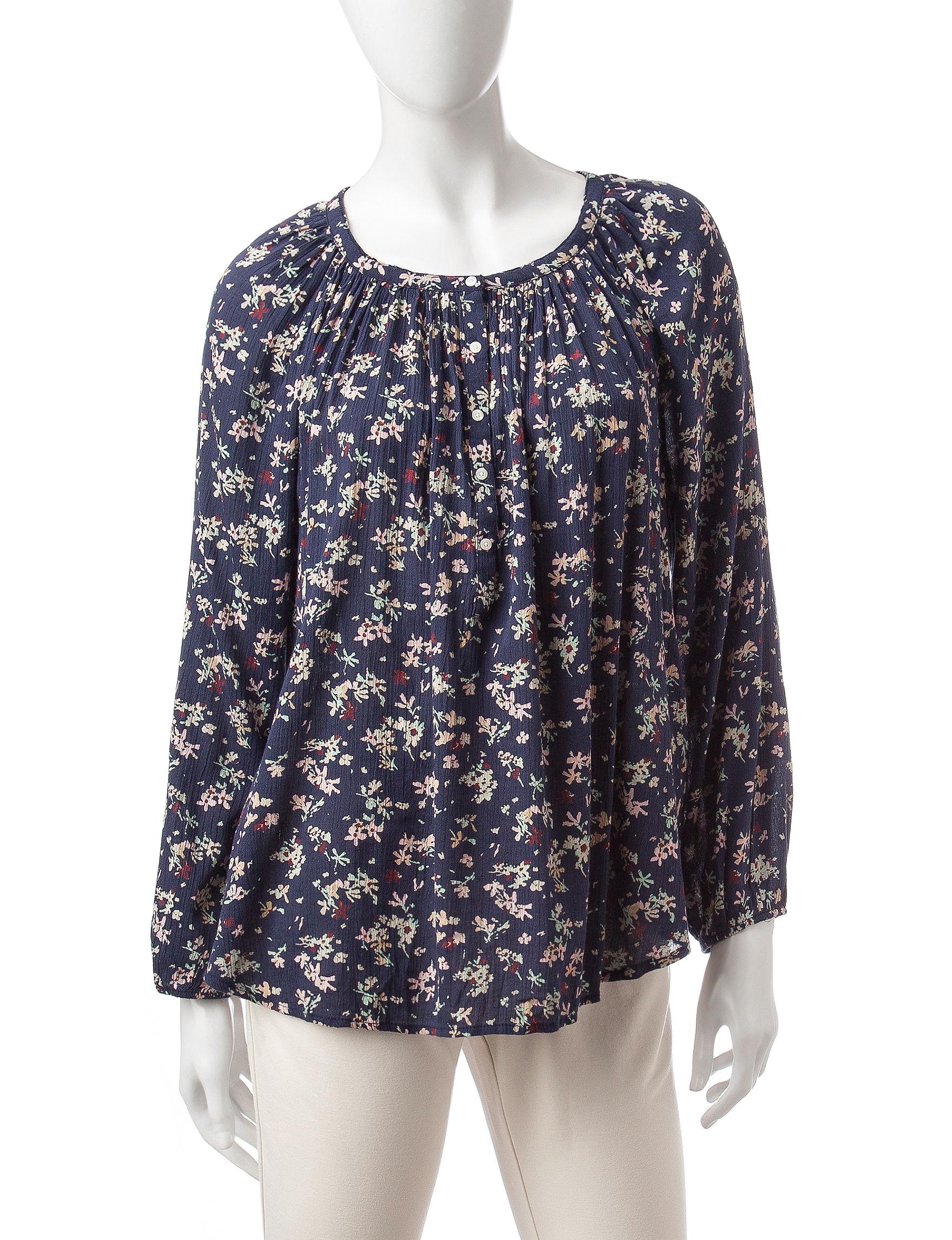 Chaps Multi Shirts & Blouses