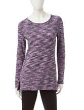 Silverwear Multicolor Space Dye Print Top