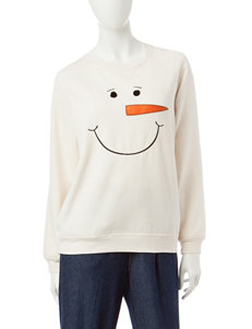 Rebecca Malone Snowman Fleece Sweater