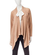 Notations Waterfall Collar Cardigan