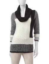 Calvin Klein Color Block Knit Sweater
