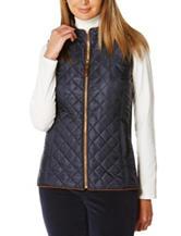 Rafaella Quilted Puffer Vest
