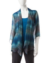 Rebecca Malone Ombre Print Layered-Look Top