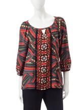 Figuero & Flower Avery Print Top