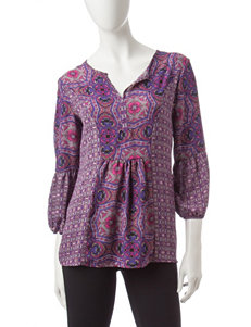 Notations Plum Shirts & Blouses