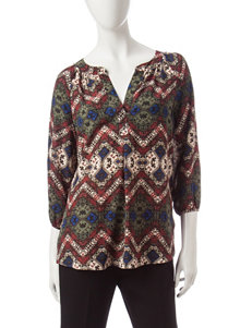 Zac & Rachel Green Multi Shirts & Blouses