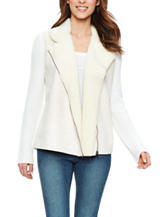 Skyes The Limit Faux Sherpa Trim Jacket