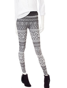 One 5 One Grey / White Leggings