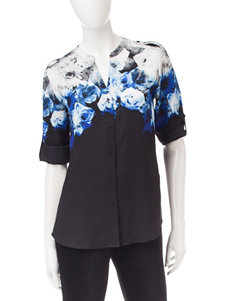 Calvin Klein Grey Shirts & Blouses