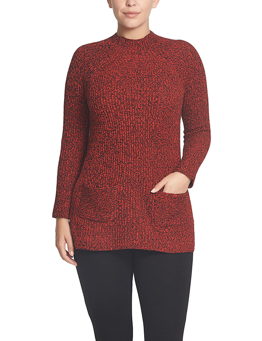 Chaus Red Pull-overs Sweaters