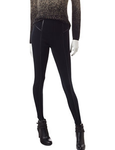 Hannah Faux Leather Detailed Leggings