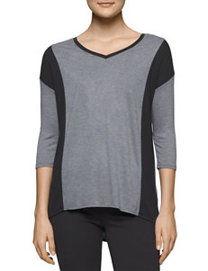 Calvin Klein Jeans Heather Grey Shirts & Blouses