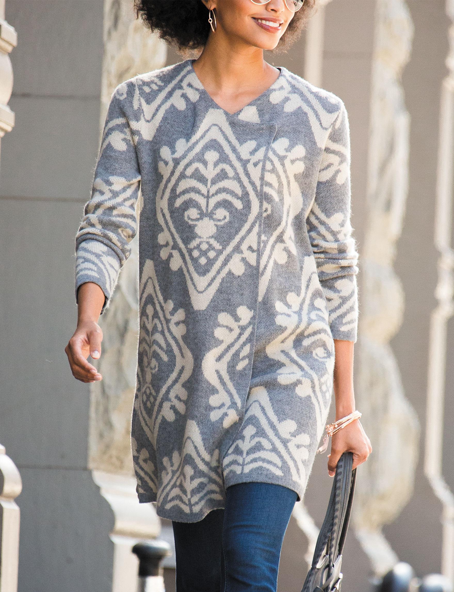 Hannah Cream Cardigans Sweaters