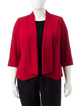Kasper Red Fly Away Jacket