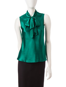 Kasper Green Shirts & Blouses
