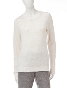 Cathy Daniels Jeweled Knit Sweater
