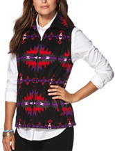 Chaps Southwestern Design Fleece Vest