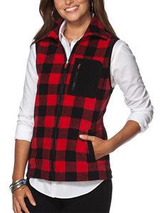 Chaps Red / Black Vests