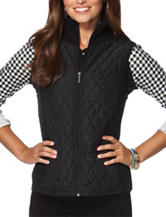 Chaps Quilted Sweater Vest