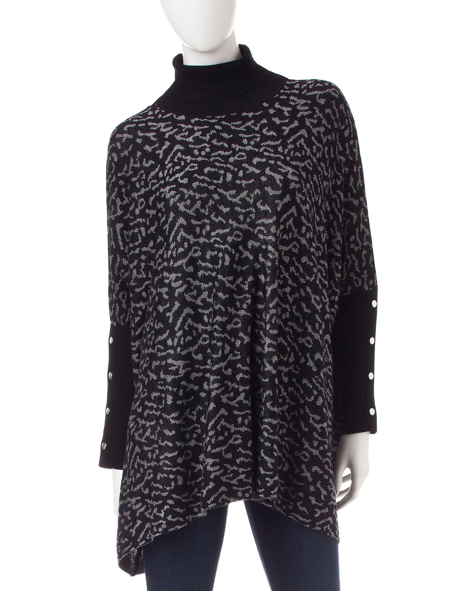Hannah Black Multi Sweaters