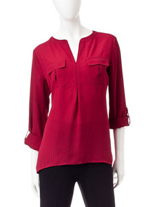Notations Wine Shirts & Blouses