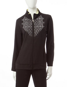 Alfred Dunner Diamond Studded Jacket