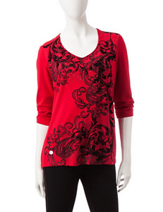 Rebecca Malone Red Shirts & Blouses