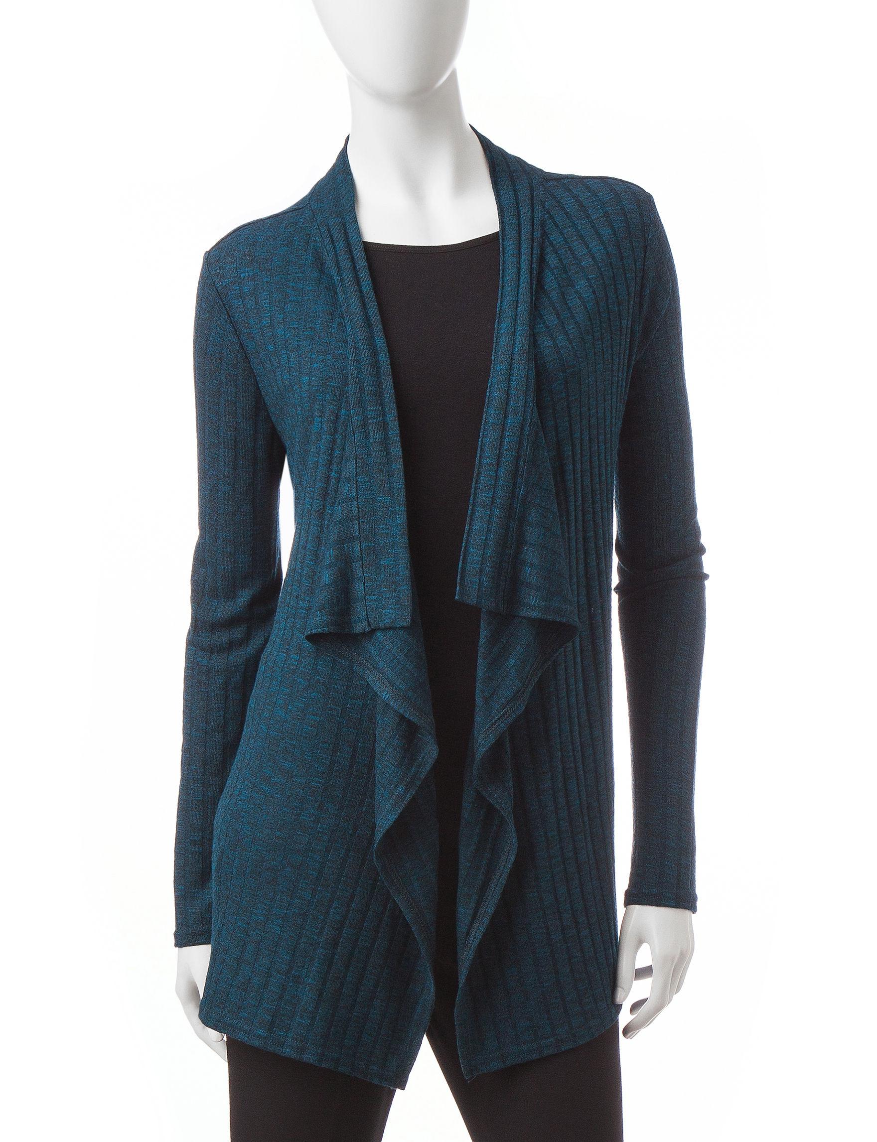 Rebecca Malone Navy / Black Cardigans Sweaters