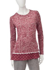 Rebecca Malone Biking Red Shirts & Blouses