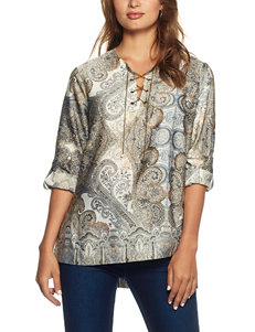 Skye's The Limit Paisley Print Top