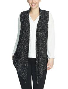 Chaus Heathered Knit Vest