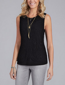 Democracy Detailed Lace Knit Top