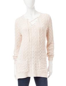 Jeanne Pierre Beige Pull-overs Sweaters