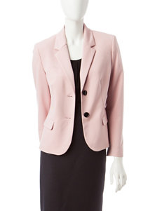 Kasper Blush Ponte Jacket