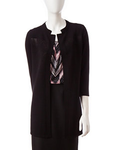 Kasper Long Duster Cardigan