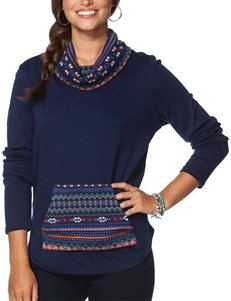 Chaps Fair Isle Print Pull-Over Sweater