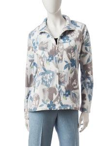 Alfred Dunner Floral Print Jacket