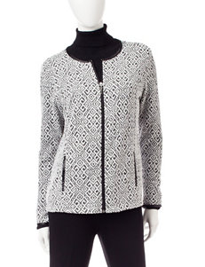 Rebecca Malone Abstract Print Jacket