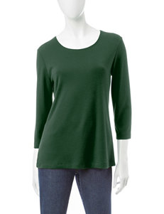 Rebecca Malone Spruce Night Crew Top
