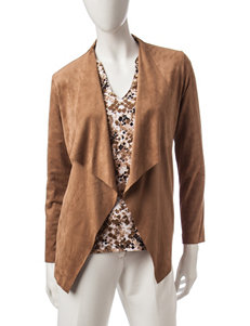 Ruby Road Beige Lightweight Jackets & Blazers