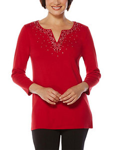 Rafaella Red Shirts & Blouses