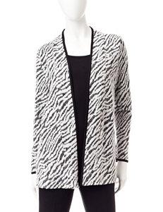 Rebecca Malone Black / White Pull-overs Sweaters