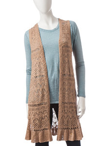 Hannah Pointelle Knit Vest