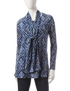 Rebecca Malone Blue Shirts & Blouses Tunics