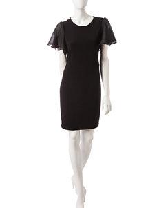 Calvin Klein Black Cocktail & Party Shift Dresses
