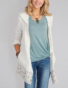 Democracy Tribal Embroidered Cardigan