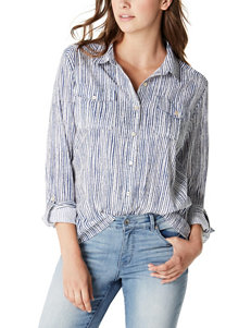 Nine West Jeans Blue Shirts & Blouses