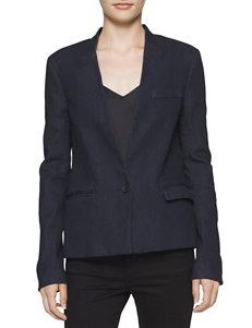 Calvin Klein Jeans Blue Lightweight Jackets & Blazers