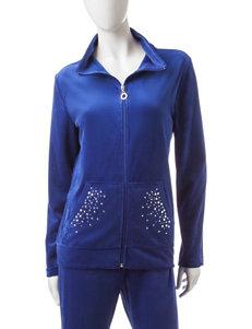Silverwear Velour Jacket